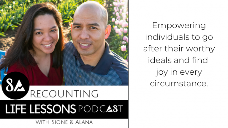 The Recounting Life Lessons Podcast with Sione and Alana